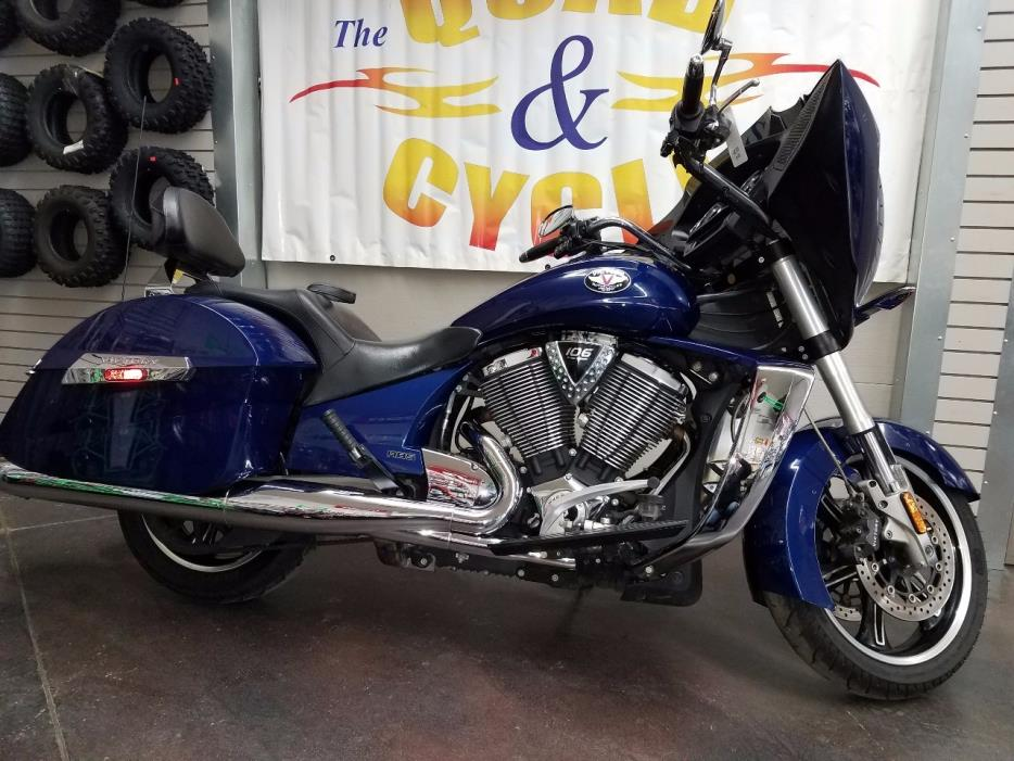 2012 Victory Cross Country Blue