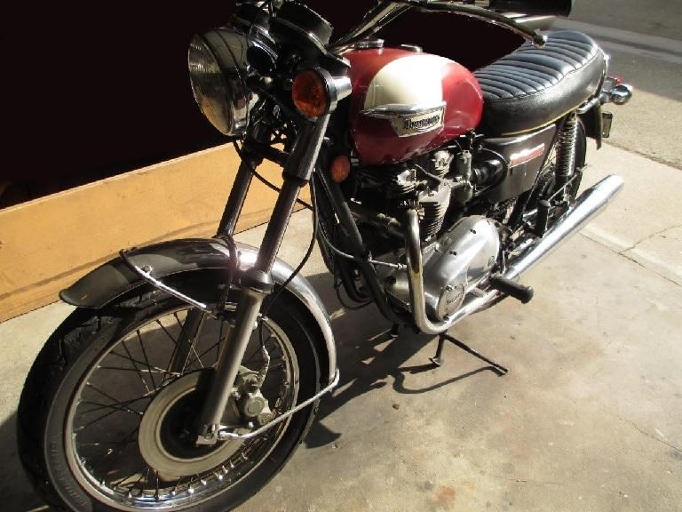 1974 Triumph 750