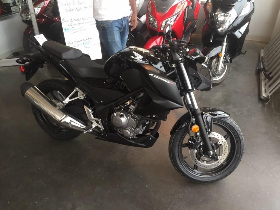 2016 Honda CB 300F
