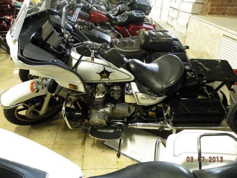 1989 Kawasaki KZ1000