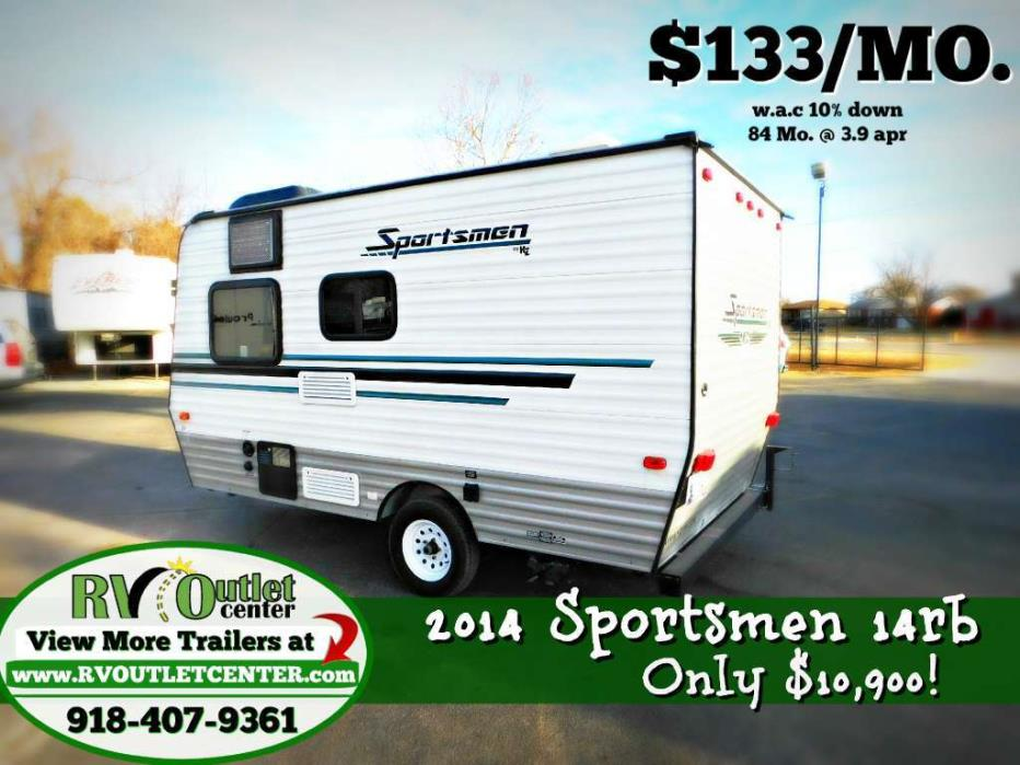 2014 Kz Rv Sportsmen 14RB