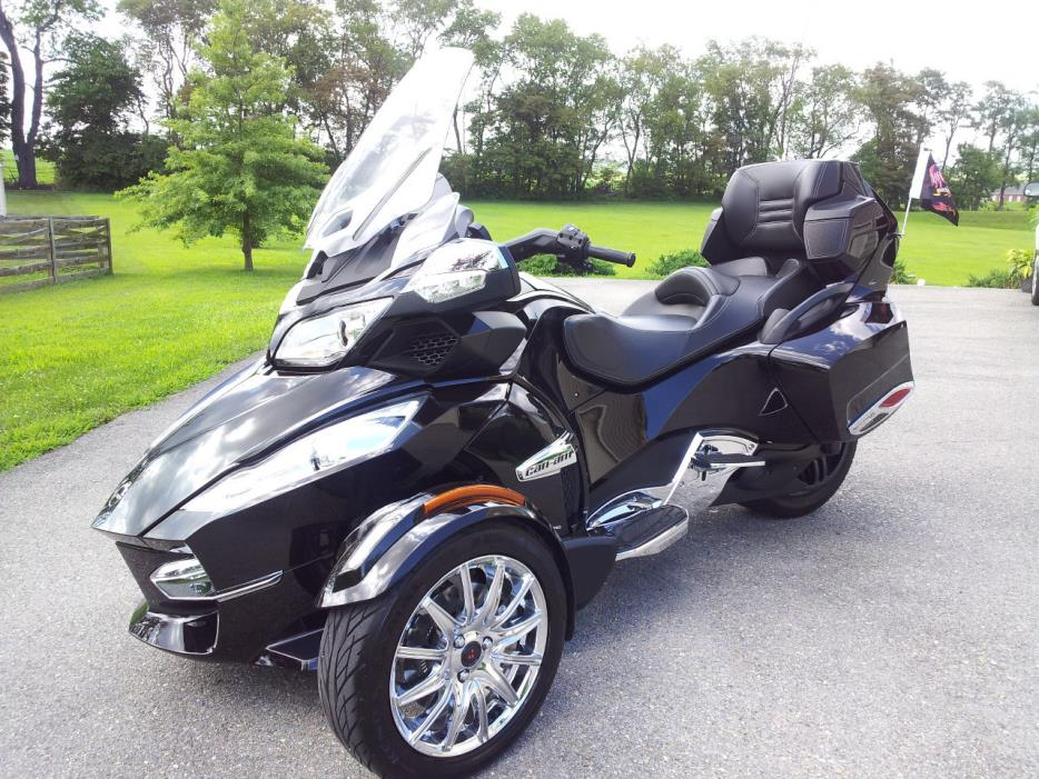 can am spyder rt limited motorcycles for sale in maryland. Black Bedroom Furniture Sets. Home Design Ideas