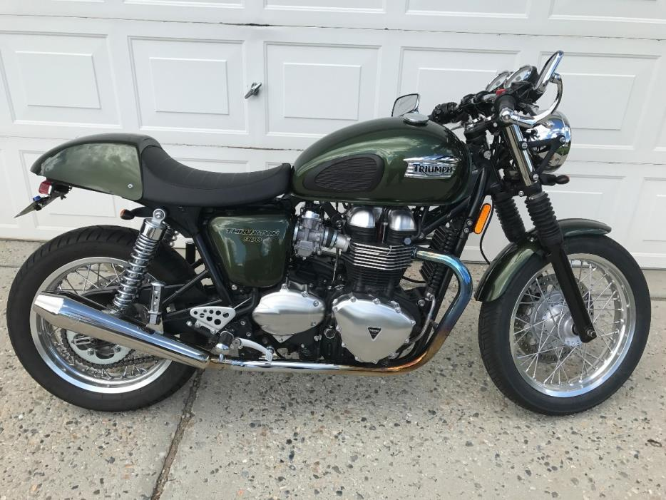 triumph thruxton 900 motorcycles for sale in utah. Black Bedroom Furniture Sets. Home Design Ideas