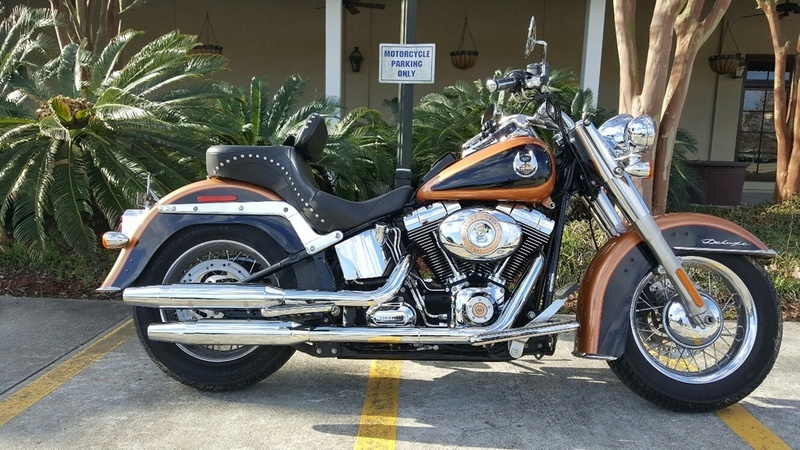 Harley Davidson Flstn Softail Deluxe 105th Anniversary