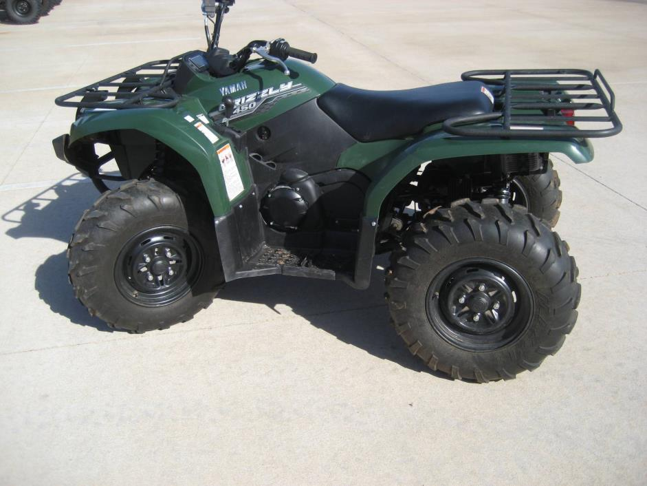 Yamaha grizzly 450 auto 4x4 motorcycles for sale in for 2014 yamaha grizzly 450 value