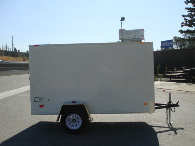 2016 Haulmark PPT5X10DS2, CARGO, BOX, COVERED, ENCLOSE