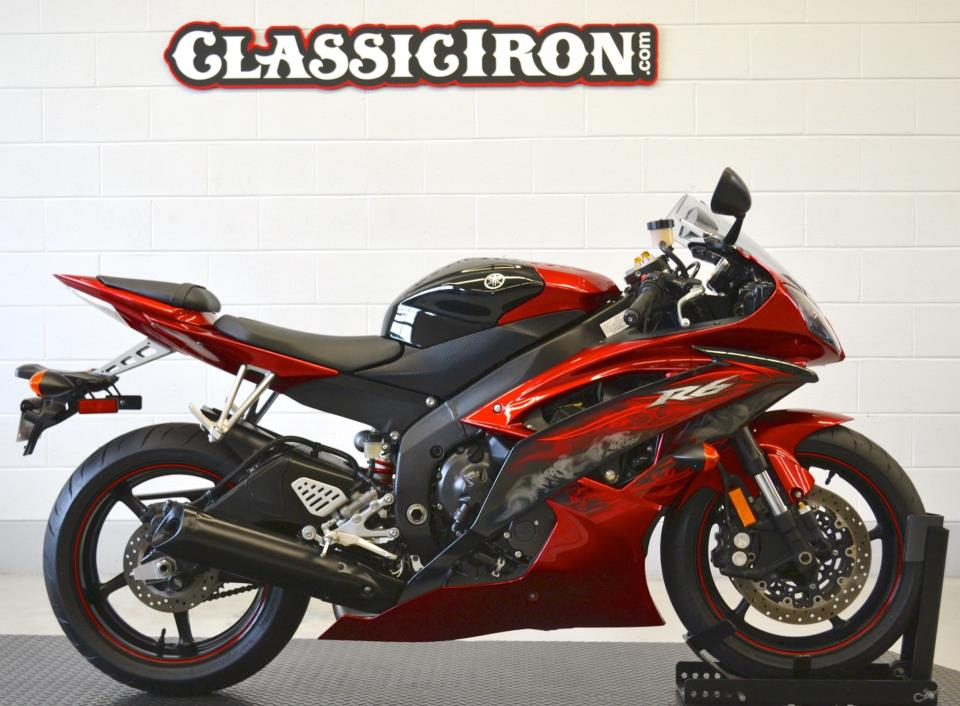 yamaha yzf r6 motorcycles for sale in virginia. Black Bedroom Furniture Sets. Home Design Ideas