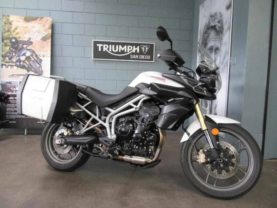 triumph tiger xr 800 motorcycles for sale in san diego california. Black Bedroom Furniture Sets. Home Design Ideas
