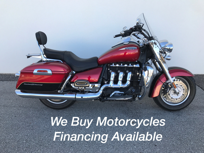 2015 Triumph Rocket III Touring ABS Two-Tone