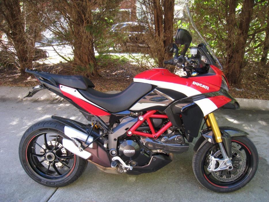 2012 Ducati Multistrada 1200 S PIKES PEAK