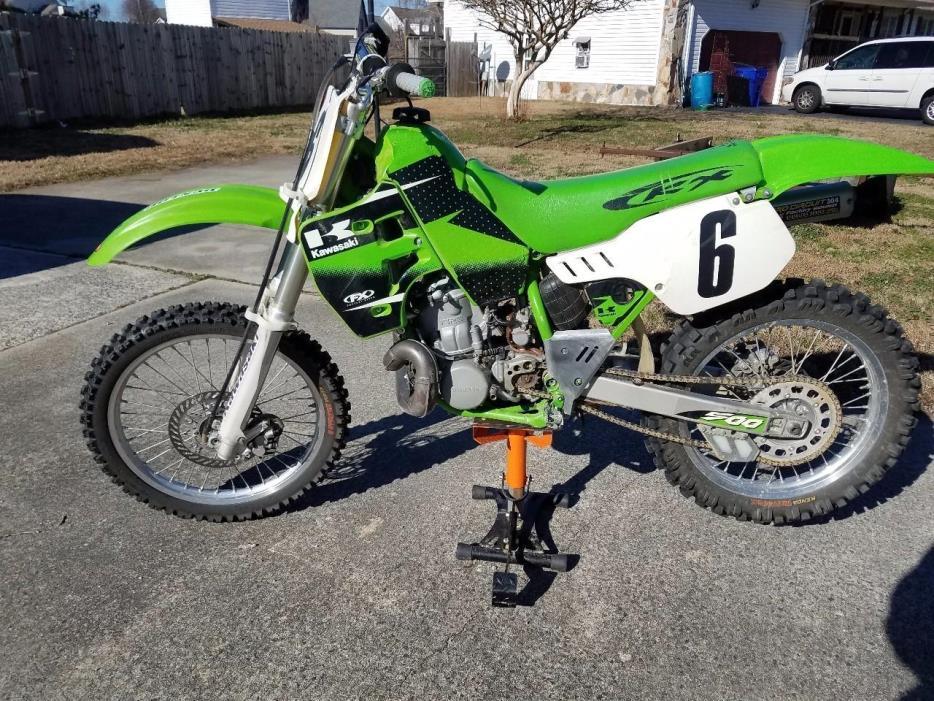 2001 Kawasaki KX 500