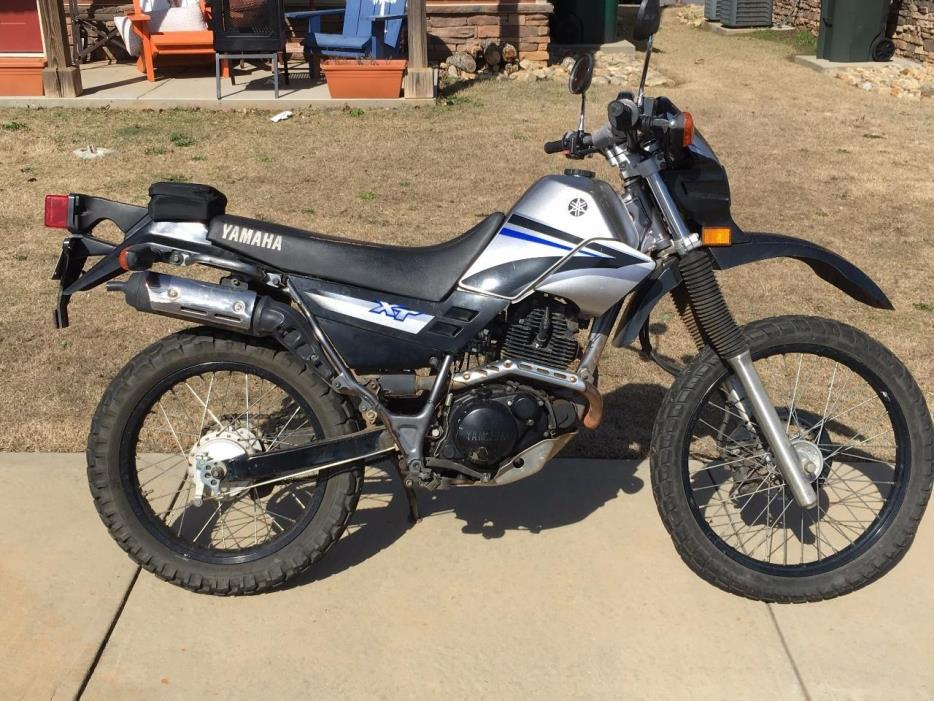 yamaha xt 225 motorcycles for sale. Black Bedroom Furniture Sets. Home Design Ideas