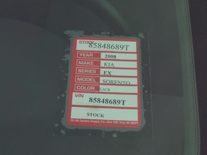 2008 Kia Sorento EX