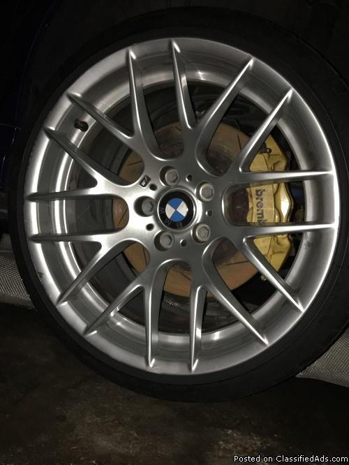 BMW 19 INCH RIMS WITH TIRES