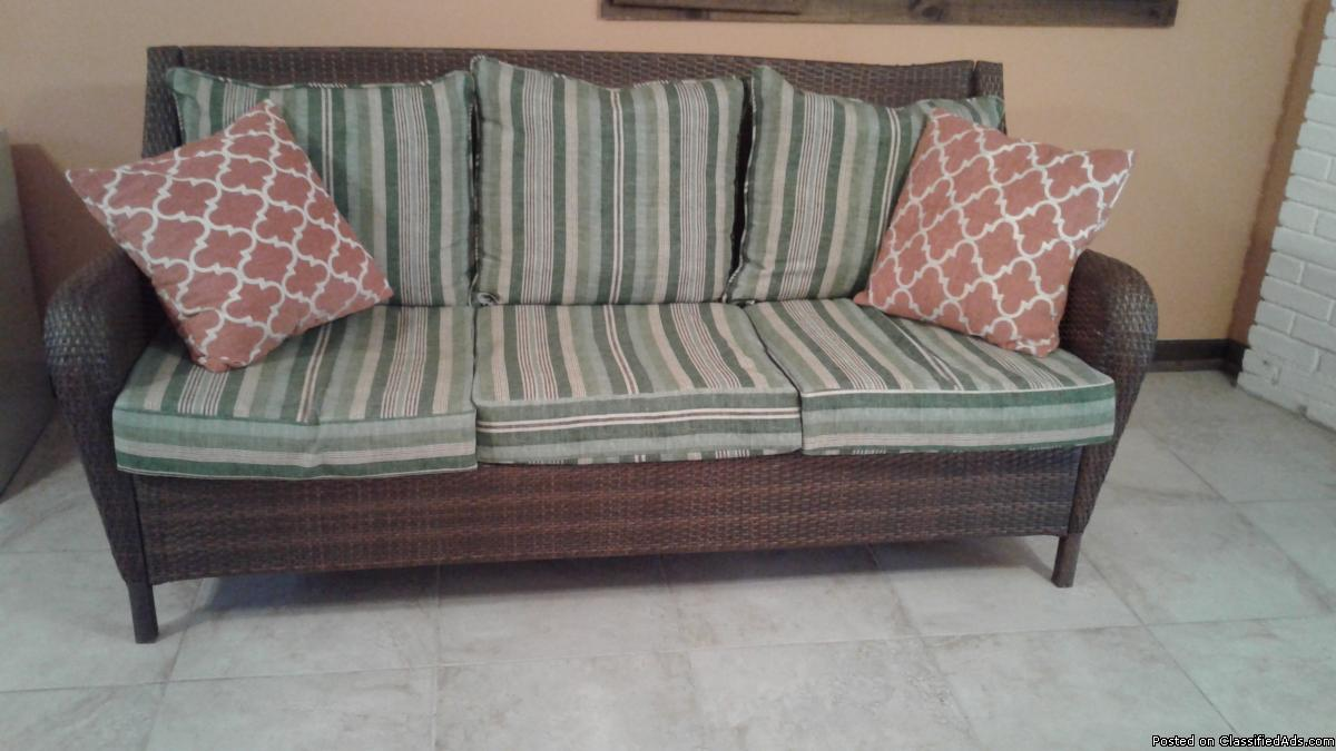 Large Wicker Seating