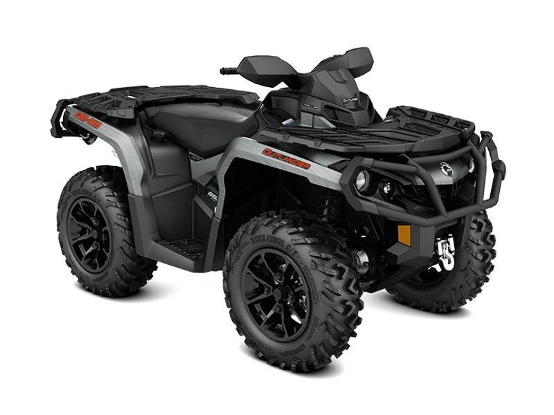 2017 Can-Am Outlander XT 650 Brushed Aluminum