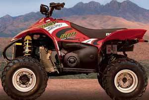 2002 Polaris Scrambler 500 4x4
