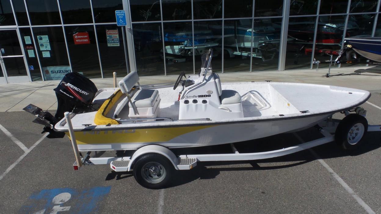 2005 Tracker Nitro Bay 1800
