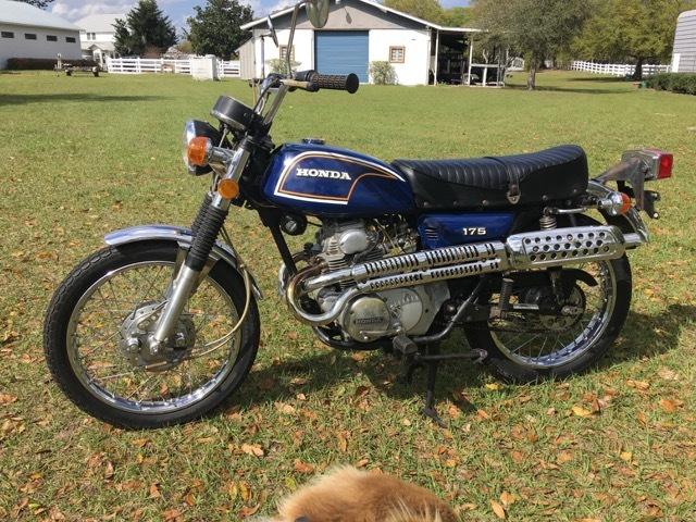 1972 Honda CL175 Scrambler