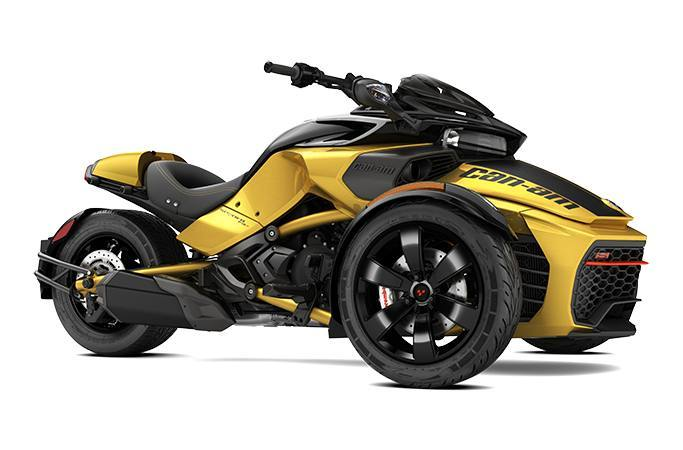 2017 Can-Am SPYDER F3-S SM6 DAYTONA 500 Ed.