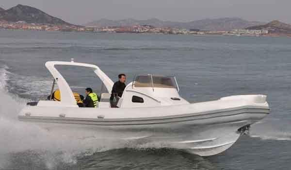 2016 Allmand 27' Rigid Inflatable Boats
