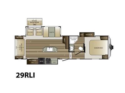 2017 Keystone Rv Cougar XLite 29RLI