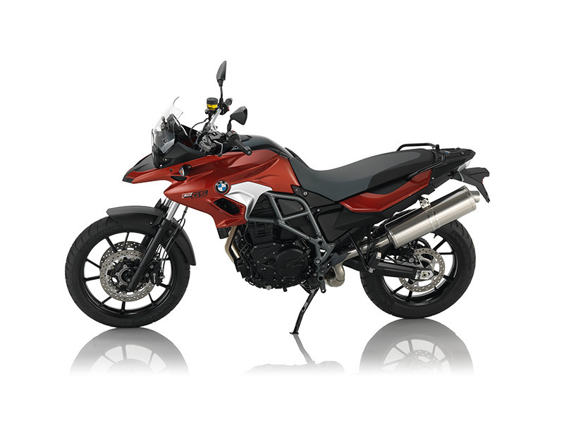 2016 BMW F 700 GS Sakhir Orange Metallic
