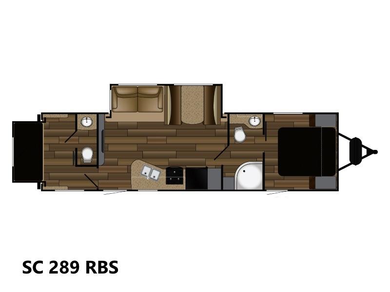 2018 Cruiser Rv Shadow Cruiser SC 289 RBS