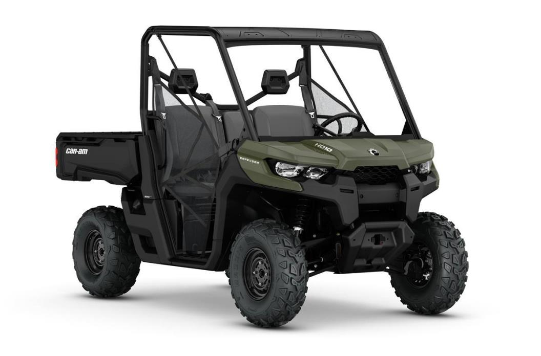 2017 Can-Am DEFENDER HD10 MOSSY