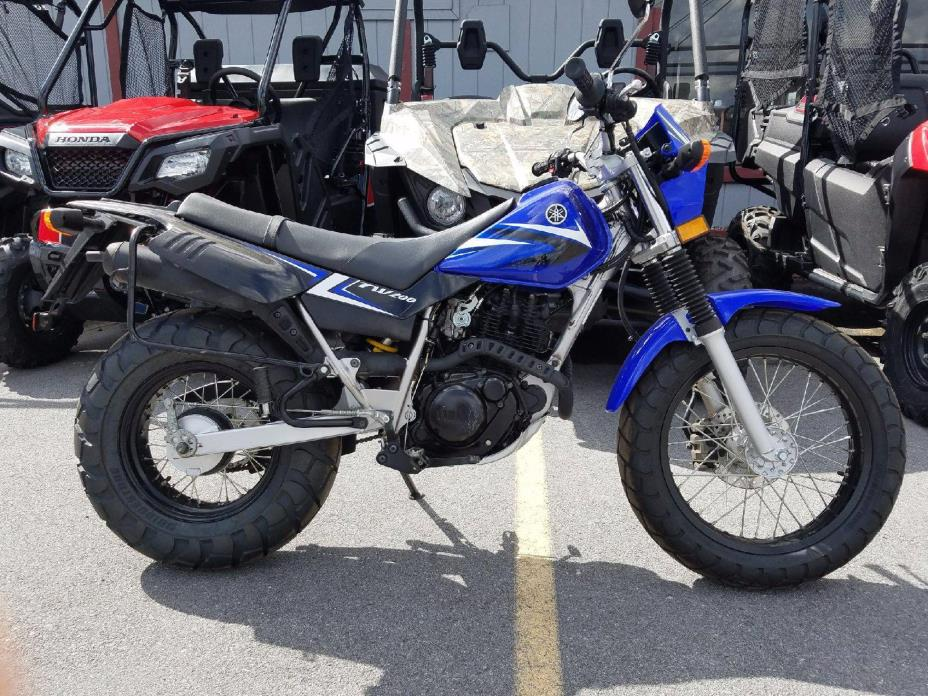2014 Yamaha Tw 200 Motorcycles for sale