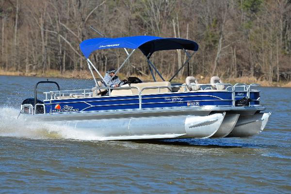 2016 SUNTRACKER 24 Fishin Barge XP3