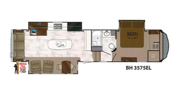 2017 Heartland Bighorn 3575EL