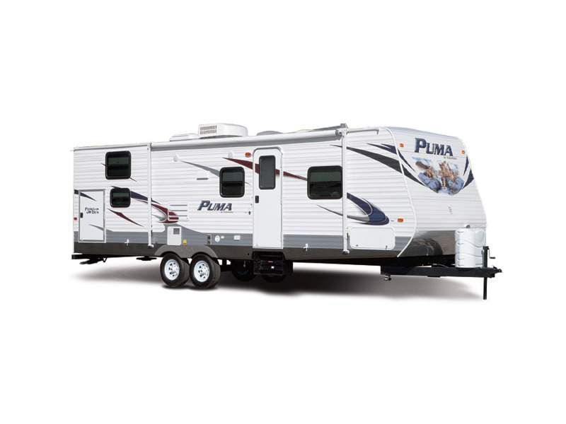 2012 Palomino Puma Travel Trailer 31-KBH