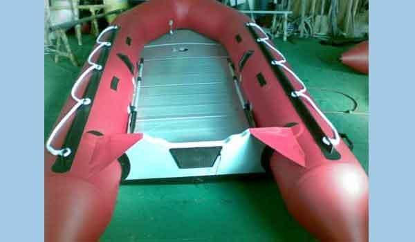 2016 Allmand SY585 (Aluminum Floor Boat, Sport Boat)