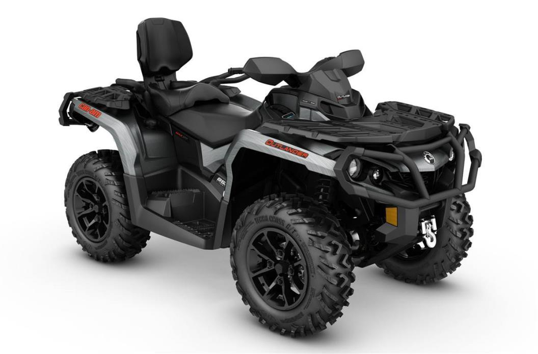 2017 Can-Am Outlander MAX XT 850 - Brushed Alum