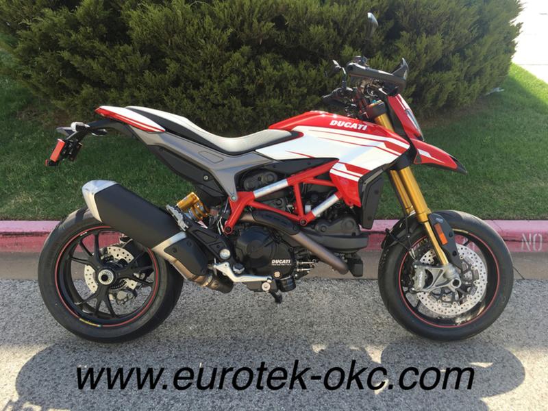 2017 Ducati Hypermotard 939 SP Red Corse Stripe