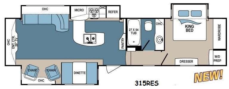 2014 Dutchmen Denali 316RES