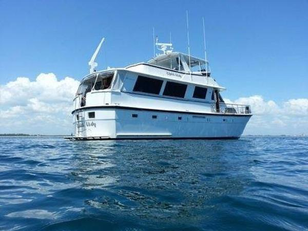 Hatteras motoryacht boats for sale in florida for Motor yachts for sale in florida