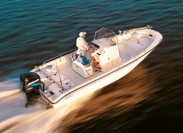 2001 Boston Whaler 22 Dauntless