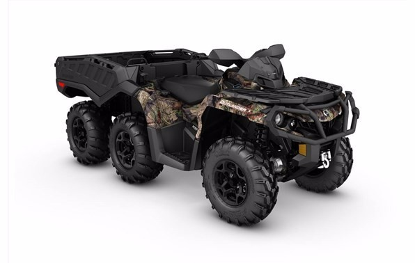 2017 Can-Am Outlander 6x6 XT 1000 - Break-Up