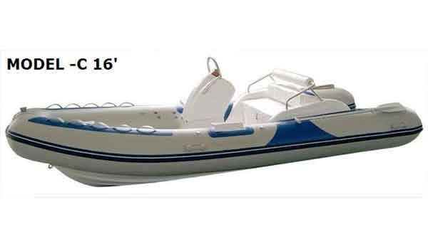 2016 Allmand 16' Rigid Inflatable Boats