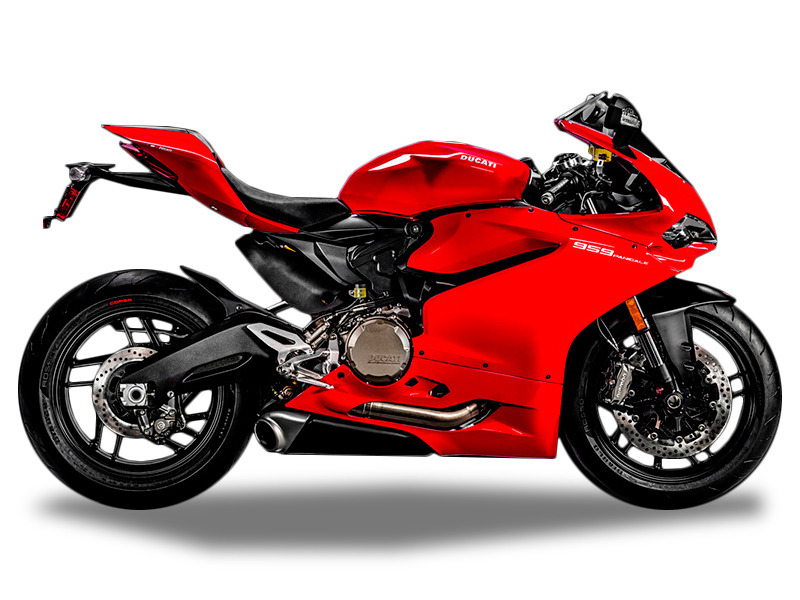 2017 Ducati 959 Panigale Red