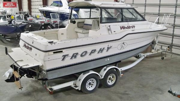 Trophy 2359 hardtop boats for sale for Fishing boats for sale in michigan