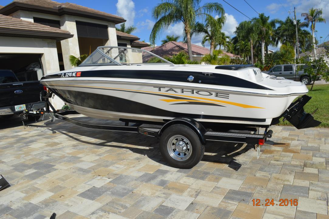 Tracker tahoe boats for sale for Tahoe sport fishing