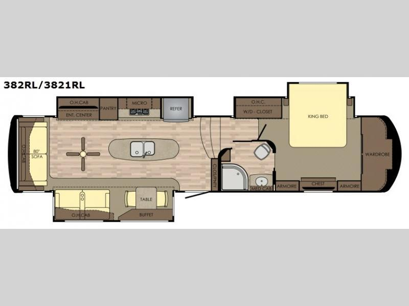 2017 Redwood Rv Redwood 3821RL