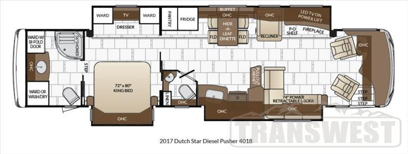 2017 Newmar Dutch Star 4018