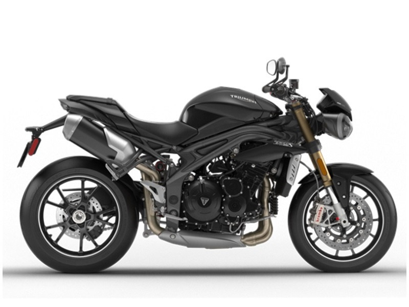 2017 Triumph Speed Triple S ABS Phantom Black