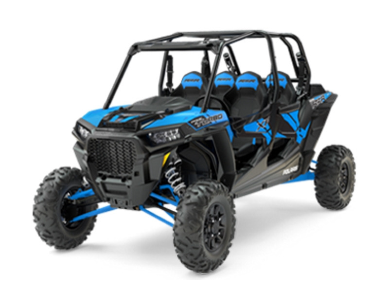 2017 Polaris RZR XP 4 Turbo EPS Velocity Blue