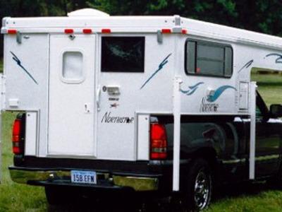 2017 Northstar Pop-Up Truck Campers TC800 Base