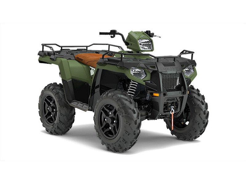 2017 Polaris Sportsman 570 SP Matte Sagebrush Green